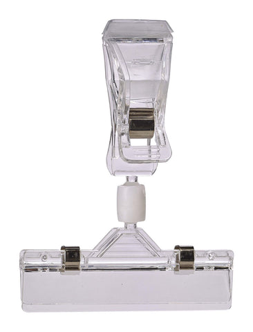 Genware DC1 Display Clip Adjustable Arm (Pk 5) 10X8cm, Menu,Signs & Display, Advantage Catering Equipment
