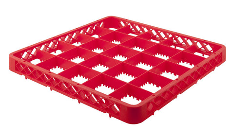 Genware ER25  25 Compartment Extender Red, Cleaning & Waste, Advantage Catering Equipment