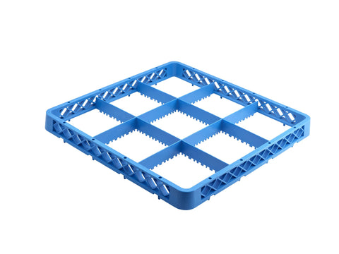 Genware ER9  9 Compartment Extender Blue, Cleaning & Waste, Advantage Catering Equipment