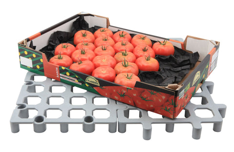 Genware FLRCK PP Plastic Heavy Duty Dunnage Floor Rack 33cm, Racking & Trolleys, Advantage Catering Equipment