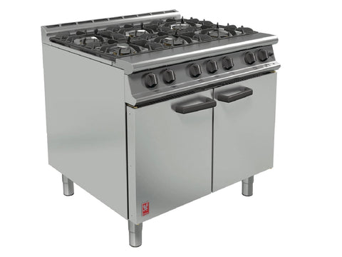 Falcon Dominator Plus G3101 Six Burner Open Top Range, Range Cookers, Advantage Catering Equipment