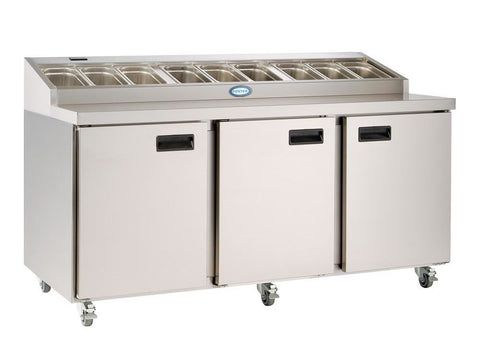 Foster FPS 3 HR Prep Station, Refrigerators, Advantage Catering Equipment