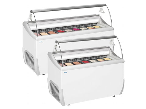 Framec J Range Soft Scoop Ice Cream Display