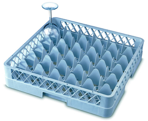 Genware GR36  36 Compartment Glass Rack, Cleaning & Waste, Advantage Catering Equipment