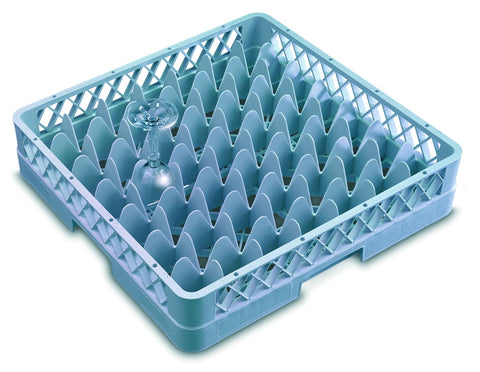 Genware GR49  49 Compartment Glass Rack