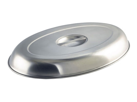 "Genware C1462 Cover For Oval Veg Dish 12""  (11462C), Table Service, Advantage Catering Equipment"