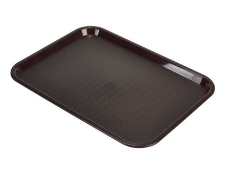 Genware CT1216-69 Fast Food Tray Chocolate Medium, Trays, Advantage Catering Equipment