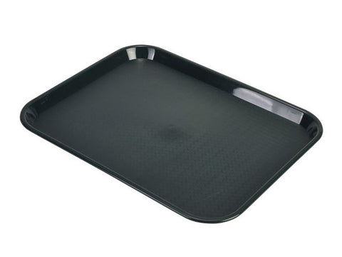 Genware CT1418-08 Fast Food Tray Forest Green Large, Trays, Advantage Catering Equipment