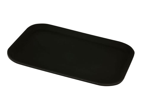 "Genware GG1418BLK Gengrip 14"" x 18"" Rect. Non-Slip Tray Black, Trays, Advantage Catering Equipment"