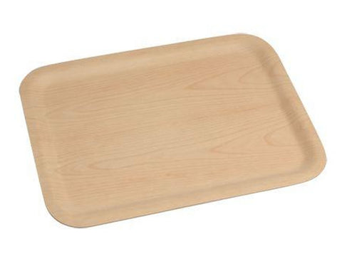 Genware LT4333 Lightwood Birch Tray 43 x 33cm, Trays, Advantage Catering Equipment