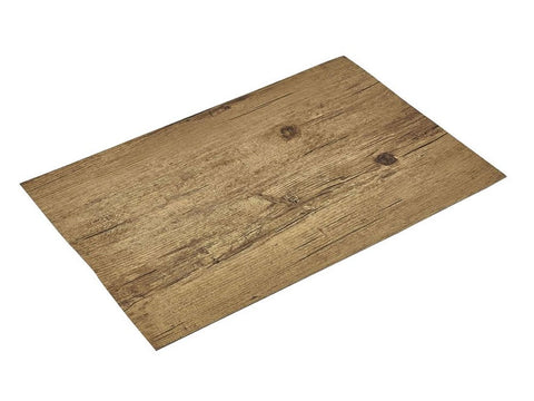 Genware PLM4 Placemat Light Wood Effect 45x30cm, Table Service, Advantage Catering Equipment
