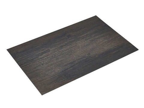 Genware PLM5 Placemat Dark Wood Effect 45x30cm, Table Service, Advantage Catering Equipment