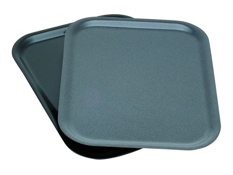 Genware PT4634DG Laminated Wood Tray 46 X 34cm - Dark Granite, Trays, Advantage Catering Equipment