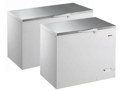 Gram CF S Range Stainless Steel Lid Chest Freezer