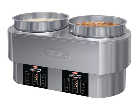 Hatco Heat-Max RHW-2 Round Heated Well, Bain Maries, Advantage Catering Equipment