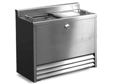Imc BM100 Solid Lid Top Loading Bottle Cooler, Bottle Fridges, Advantage Catering Equipment