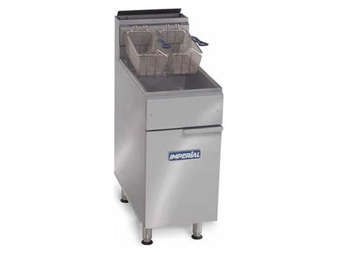 Imperial IFS-50 Single Tank Gas Fryer, Fryers, Advantage Catering Equipment