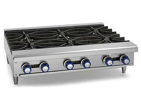 Imperial IHPA-6-36 Six Ring Hotplate, Hobs and Boiling Tops, Advantage Catering Equipment