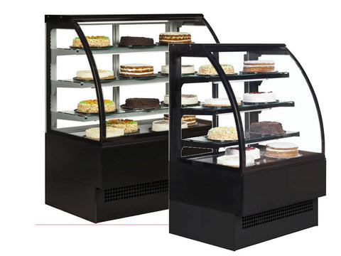 Interlevin Italia EVO Range Display Cabinet, Cold Displays, Advantage Catering Equipment