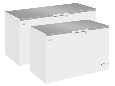 Interlevin LHF SS Range Stainless Steel Lid Chest Freezer