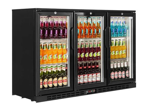 Interlevin PD30H Back Bar Bottle Cooler, Bottle Fridges, Advantage Catering Equipment