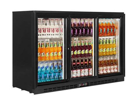 Interlevin PD30S Back Bar Bottle Cooler, Bottle Fridges, Advantage Catering Equipment