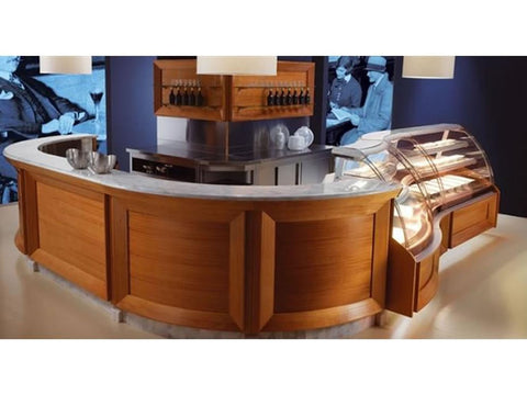 Jordao Classic Coffee Bar Counter, Serve Overs, Advantage Catering Equipment