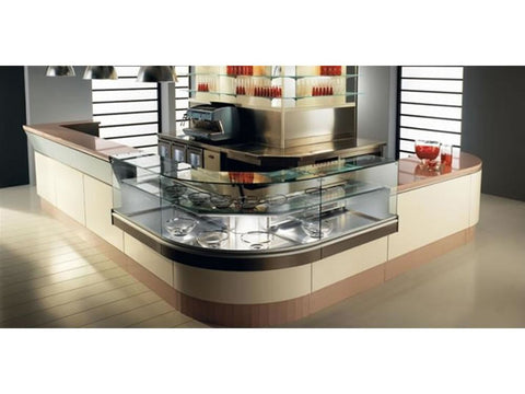 Jordao Elegance Coffee Bar Counters, Serve Overs, Advantage Catering Equipment