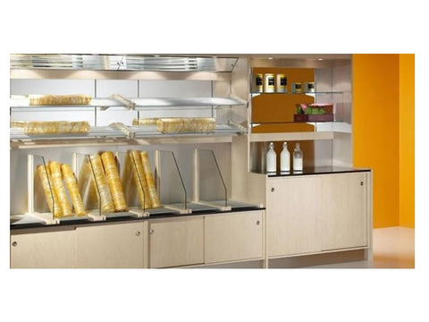 Jordao Rectros Wall Display Cabinet, Serve Overs, Advantage Catering Equipment
