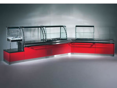 Jordao Tecno Modular Servery Counter System, Serve Overs, Advantage Catering Equipment