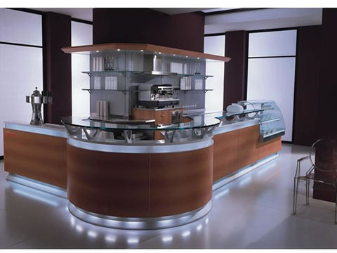 Jordao Tendance Coffee Bar Counter, Serve Overs, Advantage Catering Equipment