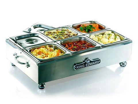 King Edward CS2V/SS Stainless Steel Large Cold Server, Refrigerators, Advantage Catering Equipment