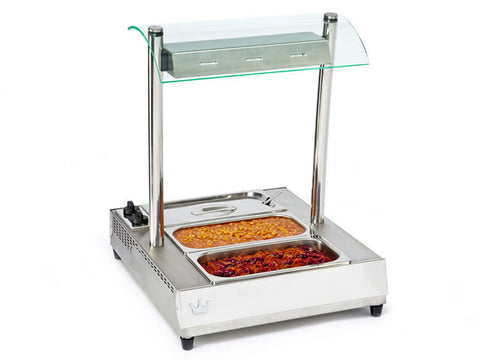 King Edward VBMG-1 Vista Bain Marie with Gantry