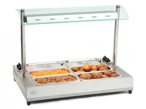 King Edward VBMG-2 Vista Large Bain Marie with Gantry, Bain Maries, Advantage Catering Equipment