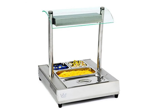 King Edward VCSG-1 Vista Cold Server with Gantry, Cold Displays, Advantage Catering Equipment