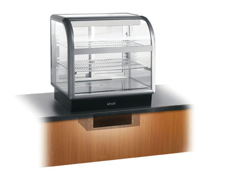 Lincat C6R/ 75SU Curved Front Refrigerated Merchandiser, Cold Displays, Advantage Catering Equipment
