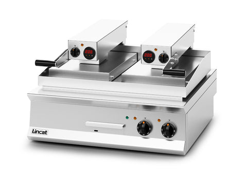 Lincat OE8210 Dual Plate Electric Clam Griddle
