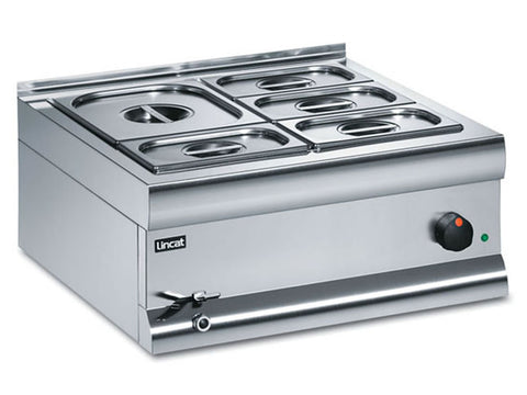 Lincat BM6W Wet Heat Bain Marie, Bain Maries, Advantage Catering Equipment