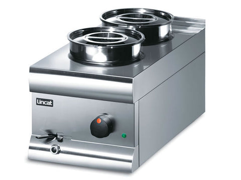 Lincat BS3W Wet Heat Bain Marie Round Pot, Bain Maries, Advantage Catering Equipment