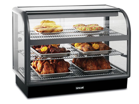 Lincat C6H/ 100B Curved Front Heated Merchandiser, Heated Displays, Advantage Catering Equipment