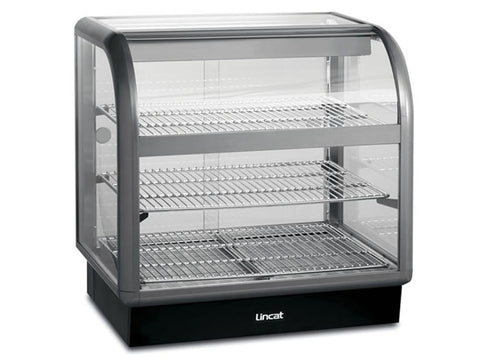 Lincat C6H/ 75B Curved Front Heated Merchandiser, Heated Displays, Advantage Catering Equipment