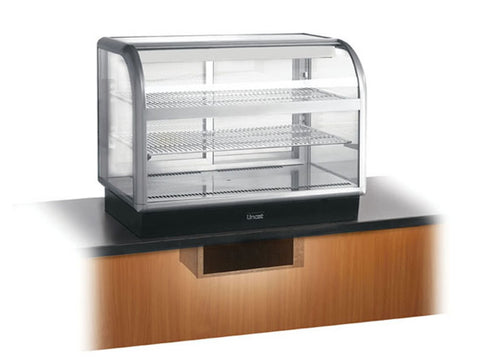 Lincat C6R/ 100SU Curved Front Refrigerated Merchandiser, Cold Displays, Advantage Catering Equipment