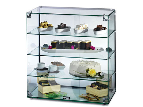Lincat GC46D Glass Display Cabinet, Ambient Display, Advantage Catering Equipment