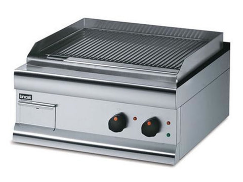 Lincat GS6/TFR Electric Steel Plate Fully Ribbed Griddle, Griddles, Advantage Catering Equipment