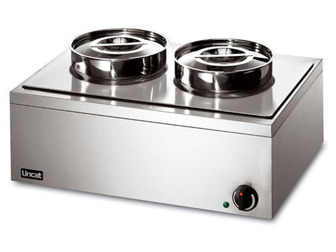 Lincat LRB2W Wet Heat Bain Marie Round Pot, Bain Maries, Advantage Catering Equipment