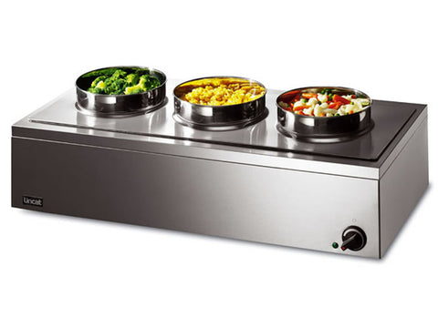 Lincat LRB3W  Wet Heat Bain Marie Round Pot, Bain Maries, Advantage Catering Equipment