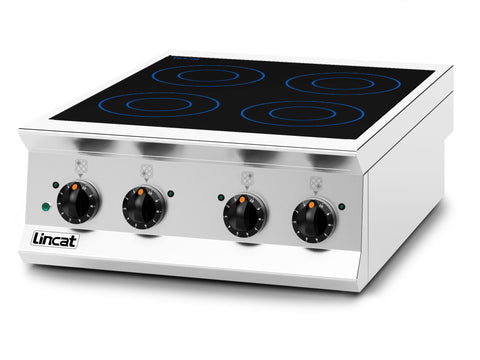 Lincat OE8014 Four Zone Induction Hob, Hobs and Boiling Tops, Advantage Catering Equipment
