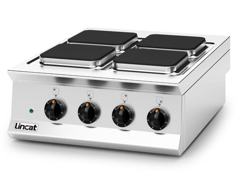 Lincat Opus OE8012 Four Plate Electric Boiling Top, Hobs and Boiling Tops, Advantage Catering Equipment