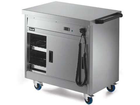 Lincat P6P2 Panther Slim Mobile Hot Cupboard, Hot Holding, Advantage Catering Equipment