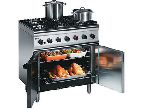 Lincat SLR9 Six Burner Gas Range, Range Cookers, Advantage Catering Equipment